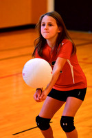 2015-10-17 l St. Agatha Volleyball 3rd Grade